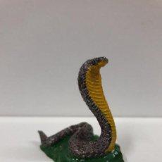 Figuras de Goma y PVC: COBRA . REALIZADA POR PECH . SERIE FIERAS . AÑOS 50 EN GOMA. Lote 107522875