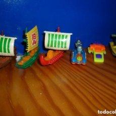 Figuras Kinder: LOTE 6 BARCOS KINDER. Lote 107595043
