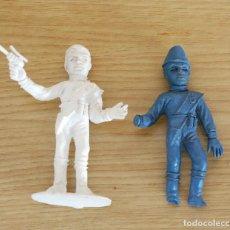 Figuras de Goma y PVC: FIGURAS DE PLASTICO, THUNDERBIRDS, COMANSI, AÑOS 70. Lote 107611555