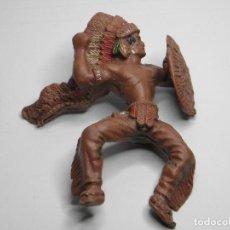 Figuras de Goma y PVC: JINETE INDIO GRANDE DE LAFREDO. Lote 107683695