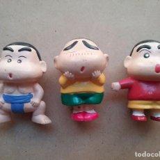 Figuras de Goma y PVC: SHIN-CHAN FIGURA PVC LOTE 3 YOSHITO USUI AÑOS '90. Lote 107732439