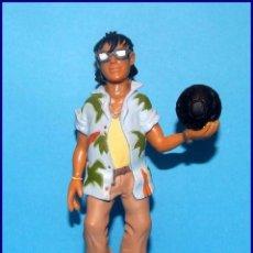 Figuras de Goma y PVC: LAS FIERAS FÚTBOL CLUB EL EQUIPO SELVAJE FIGURAS PVC BULLY FIGURA ROCCE. Lote 107838283