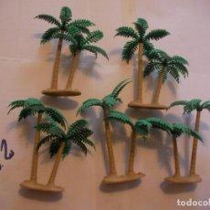 Figuras de Goma y PVC: LOTE PALMERAS PARA DIORAMA. Lote 107856147