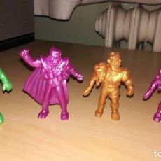 Figuras de Goma y PVC: LOTE 4 FIGURAS VENGADOR TOXICO DUNKIN. Lote 107915867