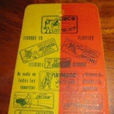 Figuras de Goma y PVC: CURIOSA PUBLICIDAD COLECCIONES FIGURA JECSAN - TEMPORADA 1959 - 60 FERIA INTERNACIONAL BARCELONA . Lote 107923355