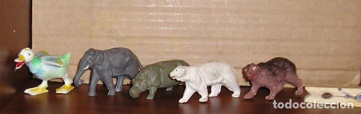 FIGURA DE PLÁSTICO LOTE ANIMALES REAMSA COMANSI JECSAN PECH (Juguetes - Figuras de Goma y Pvc - Otras)