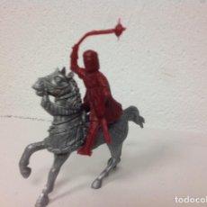 Figuras de Goma y PVC: MEDIEVAL REAMSA - CRUZADO CRISTIANO DE REAMSA - ARABE SARRAZENO MIO CID BEN YUSUF. Lote 107934411