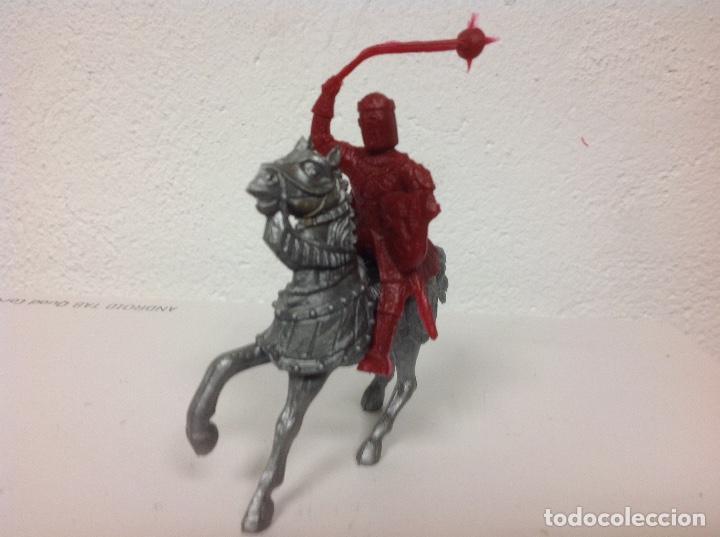 Figuras de Goma y PVC: MEDIEVAL REAMSA - cruzado cristiano de reamsa - arabe sarrazeno mio cid ben yusuf - Foto 2 - 107934411