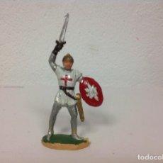 Figuras de Goma y PVC: MEDIEVAL REAMSA - CRUZADO CRISTIANO DE REAMSA - ARABE SARRAZENO MIO CID BEN YUSUF. Lote 107934783