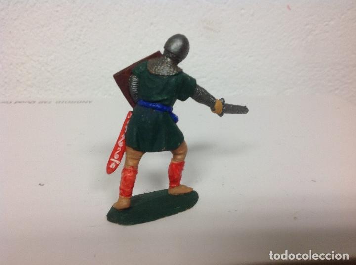 Figuras de Goma y PVC: MEDIEVAL REAMSA corte feudal - cruzado cristiano de reamsa - arabe sarrazeno mio cid ben yusuf - Foto 2 - 107935451