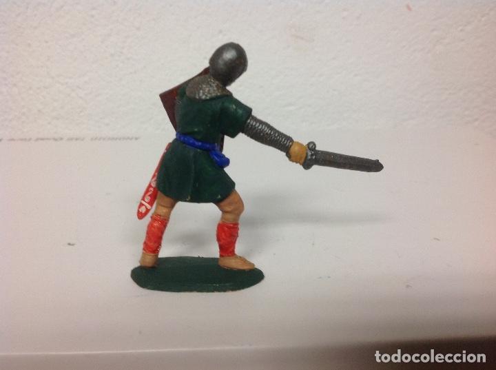 Figuras de Goma y PVC: MEDIEVAL REAMSA corte feudal - cruzado cristiano de reamsa - arabe sarrazeno mio cid ben yusuf - Foto 3 - 107935451