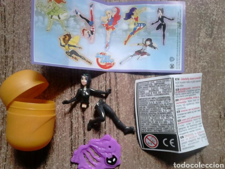 Figuras Kinder: Colección huevo kinder,se277,super hero girls,ideal coleccionistas - Foto 3 - 119484491