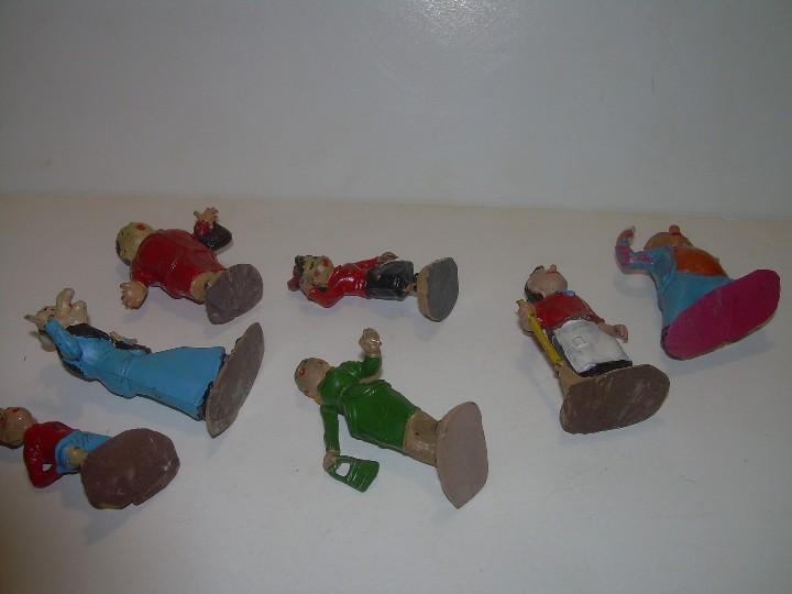 Figuras de Goma y PVC: ANTIGUAS Y RARISIMAS FIGURAS DE GOMA DURA..8 PERSONAJES ...TBO...FAMILIA ULISES. - Foto 18 - 108048363