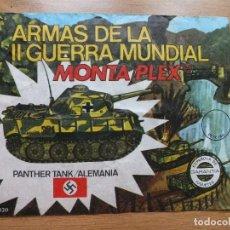 Figuras de Goma y PVC: MONTAPLEX SOBRE Nº 420 PANTHER TANK ALEMANIA ARMAS DE LA II GERRA MUNDIAL VACIO 100% ORIGINAL. Lote 108092895