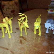 Figuras de Goma y PVC: ANIMALES GOMA PVC FLEXIBLES ALAMBRE. Lote 108093075