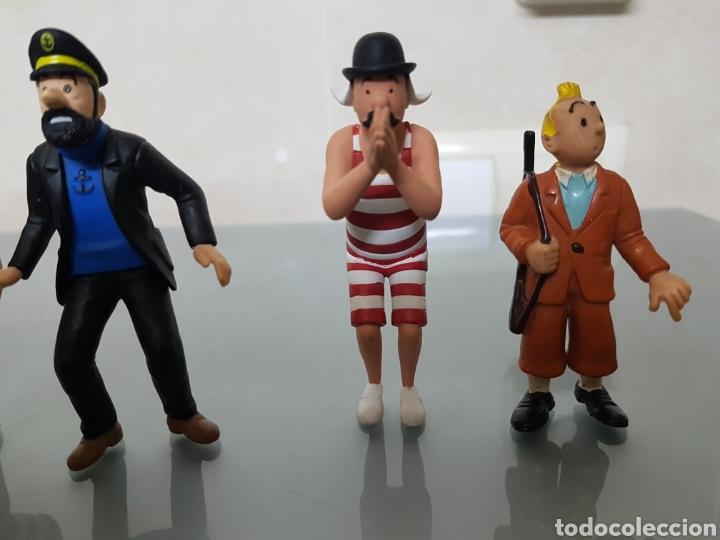 Figuras de Goma y PVC: GRAN LOTE TINTIN 6 FIGURAS PVC - Foto 2 - 108283259