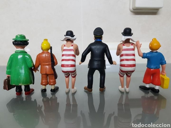 Figuras de Goma y PVC: GRAN LOTE TINTIN 6 FIGURAS PVC - Foto 4 - 108283259