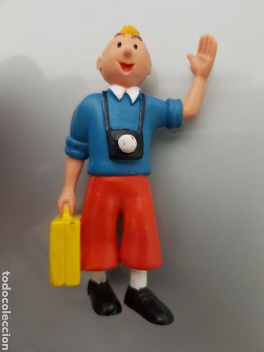 Figuras de Goma y PVC: GRAN LOTE TINTIN 6 FIGURAS PVC - Foto 5 - 108283259