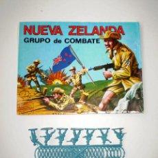 Figuras de Goma y PVC: MONTAPLEX SOBRE Nª 160 NUEVA ZELANDA VACÍO + 1 COLADA DE SOLDADOS NEOZELANDESES ANZAC. Lote 108304031