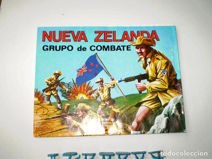 Figuras de Goma y PVC: MONTAPLEX SOBRE Nª 160 NUEVA ZELANDA VACÍO + 1 COLADA DE SOLDADOS NEOZELANDESES ANZAC - Foto 3 - 108304031