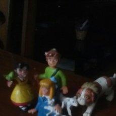 Figuras de Goma y PVC: LOTE MUÑECOS FIGURA PVC HEIDI PEDRO HEIDI CLARA NIEBLA. Lote 108316695