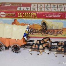 Figuras de Goma y PVC: LA CARRETA DE COMANSI EN CAJA - REF. 18604 - COMANSI WEST. Lote 108370199