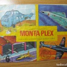 Figuras de Goma y PVC - SOBRE MONTAPLEX Nº 423 MODELOS A ESCALA AVIONES SOBRE VACIO - 108402447