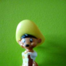 Figuras Kinder: FIGURA MUÑECO SPEDY SPIDY SPEEDY GONZALEZ RATON MEXICACO KINDER. Lote 111069423