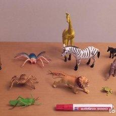 Figuras de Goma y PVC: FIGURAS PVC ANIMALES. Lote 108440811
