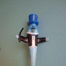 Figuras de Goma y PVC: PVC DOLFI FIGURA PROMOCIONAL DE LA CADENA HOTELERA NOVOTEL . Lote 108670759