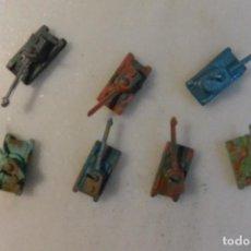 Figuras de Goma y PVC: LOTE DE 7 TANQUES DE MONTAPLEX. Lote 108810003