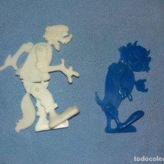 Figuras de Goma y PVC: LOTE FIGURAS ARTICULADAS DISNEY DETERGENTE OMO DUNKIN ORIGINALES AÑOS 60 LOTE 4. Lote 108813527