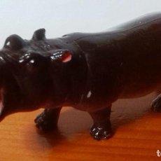 Figuras de Goma y PVC: FIGURA HIPOPOTAMO 11 X 4.5 CM.. Lote 108856347