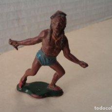 Figuras de Goma y PVC: FIGURA DE GOMA INDIO TEIXIDO. Lote 109010855