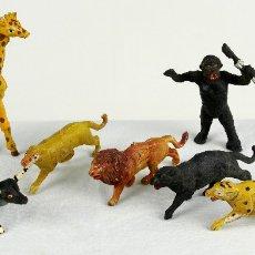 Figuras de Goma y PVC: CAPELL SIETE FIERAS EN PLÁSTICO. Lote 109061226