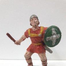 Figuras de Goma y PVC: GUERRERO MEDIEVAL - SERIE PRINCIPE VALIENTE . REALIZADO POR LAFREDO . AÑOS 50 EN GOMA. Lote 109141027