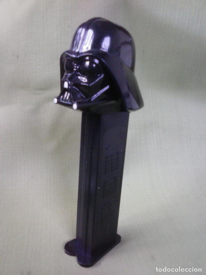 Dispensador Pez: Dispensador Caramelos PEZ de Darth Vader Guerra de las Galaxias - Foto 2 - 109161383