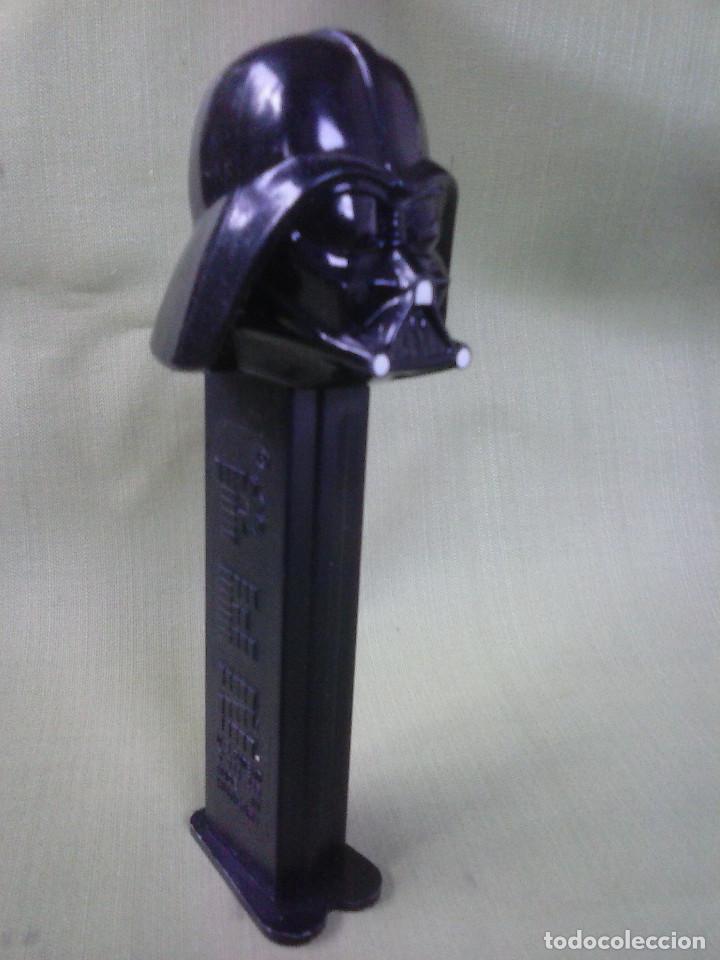 Dispensador Pez: Dispensador Caramelos PEZ de Darth Vader Guerra de las Galaxias - Foto 3 - 109161383
