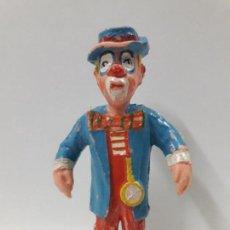 Figuras de Goma y PVC: PAYASO . REALIZADO POR ESTEREOPLAST . AÑOS 60. Lote 109174819