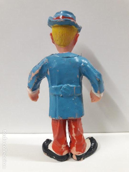 Figuras de Goma y PVC: PAYASO . REALIZADO POR ESTEREOPLAST . AÑOS 60 - Foto 2 - 109174819