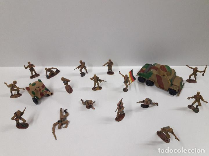 Figuras de Goma y PVC: COLECCION COMPLETA DEL AFRICA KORPS . REALIZADA POR PECH . AÑOS 60 - Foto 3 - 109182555