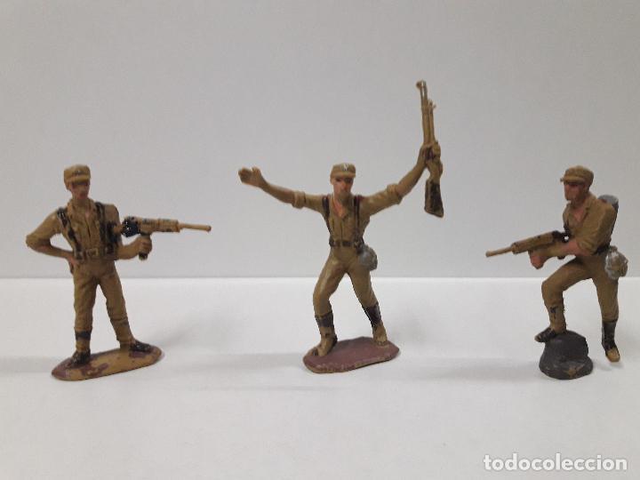 Figuras de Goma y PVC: COLECCION COMPLETA DEL AFRICA KORPS . REALIZADA POR PECH . AÑOS 60 - Foto 6 - 109182555