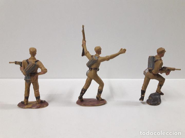 Figuras de Goma y PVC: COLECCION COMPLETA DEL AFRICA KORPS . REALIZADA POR PECH . AÑOS 60 - Foto 7 - 109182555