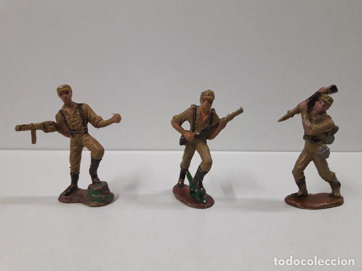 Figuras de Goma y PVC: COLECCION COMPLETA DEL AFRICA KORPS . REALIZADA POR PECH . AÑOS 60 - Foto 8 - 109182555