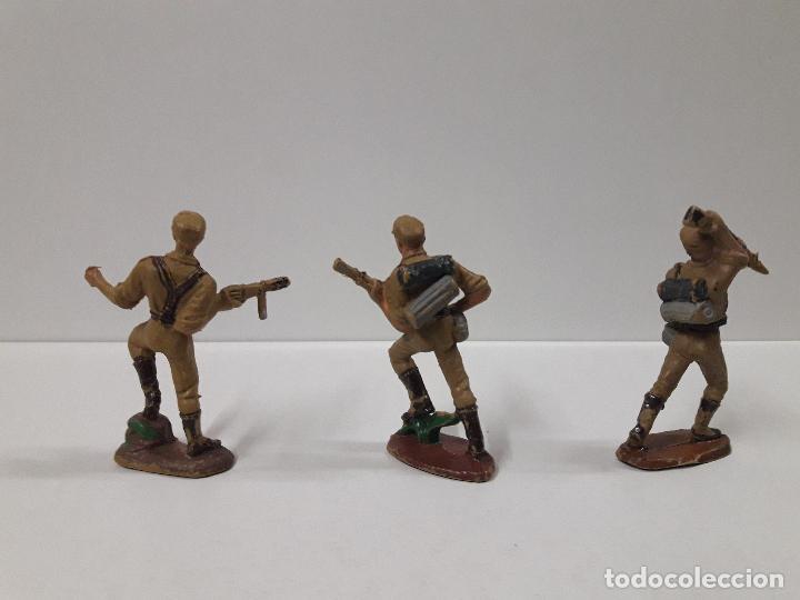 Figuras de Goma y PVC: COLECCION COMPLETA DEL AFRICA KORPS . REALIZADA POR PECH . AÑOS 60 - Foto 9 - 109182555