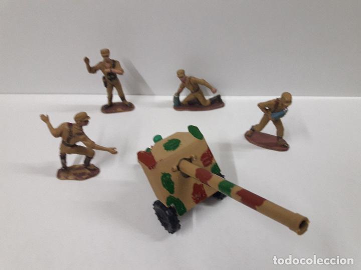 Figuras de Goma y PVC: COLECCION COMPLETA DEL AFRICA KORPS . REALIZADA POR PECH . AÑOS 60 - Foto 13 - 109182555