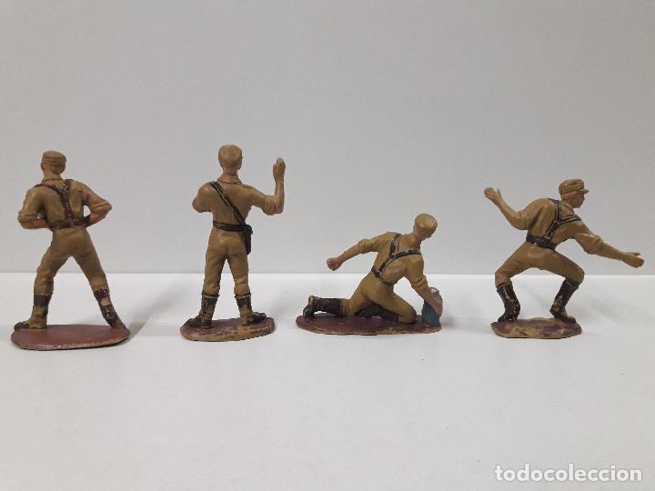 Figuras de Goma y PVC: COLECCION COMPLETA DEL AFRICA KORPS . REALIZADA POR PECH . AÑOS 60 - Foto 15 - 109182555