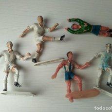 Figuras de Goma y PVC: LOTE 5 FIGURAS PVC COMANSI FUTBOL FUTBOLISTA EPOCA REAMSA JECSAN PECH TEIXIDO. Lote 109202163