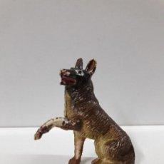 Figuras de Goma y PVC: EL PERRO RIN TIN TIN . REALIZADO POR PECH . AÑOS 50 EN GOMA. Lote 109289583