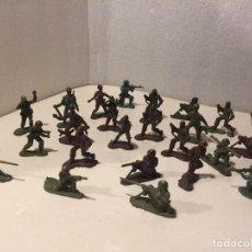 Figuras de Goma y PVC: LOTE SOLDADOS 5 CM. Lote 109328403